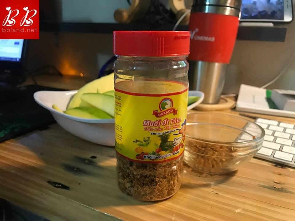 Chia sẻ cách lựa chọn muối ớt tôm Tây Ninh