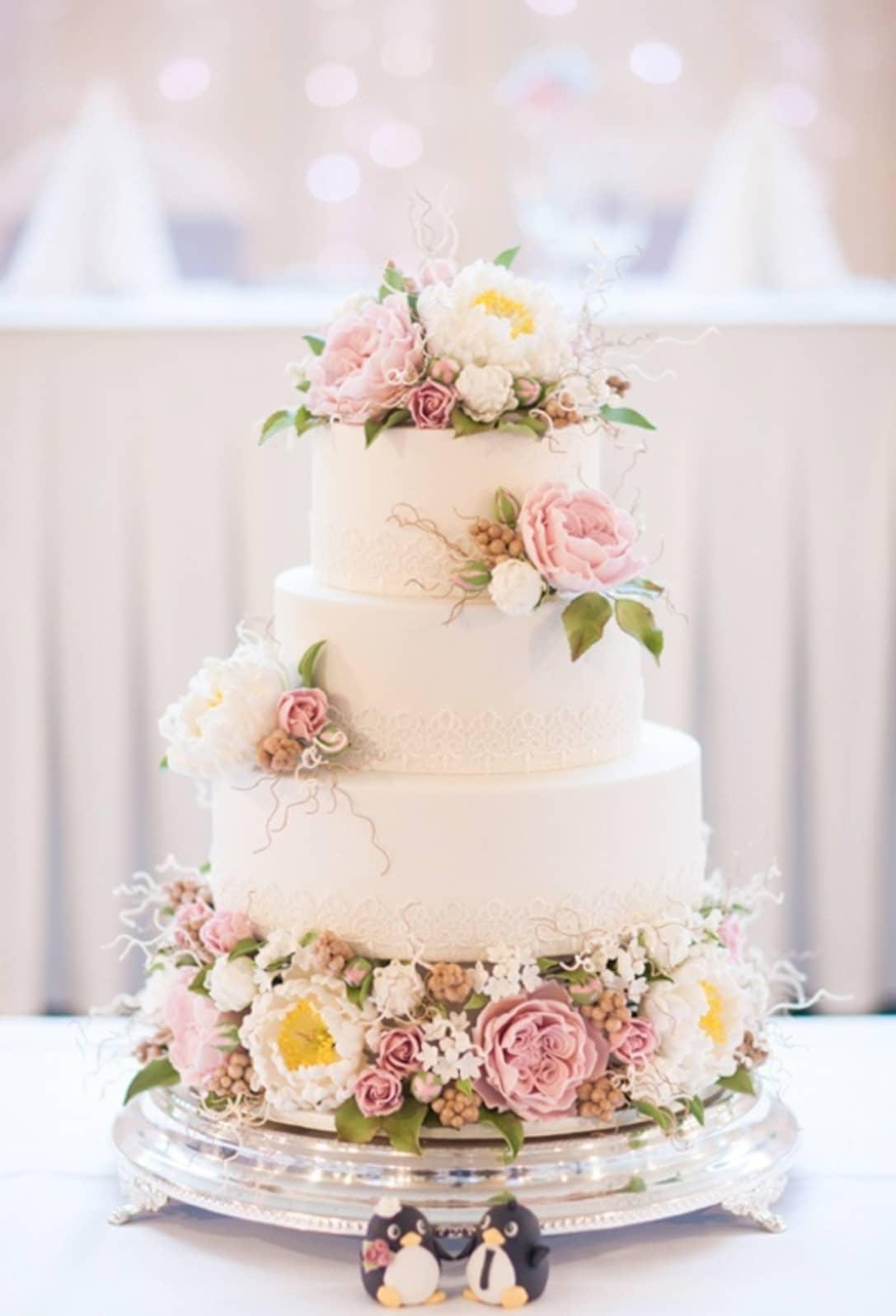 Bộ ảnh đẹp về bánh cưới cho ngày trọng đại