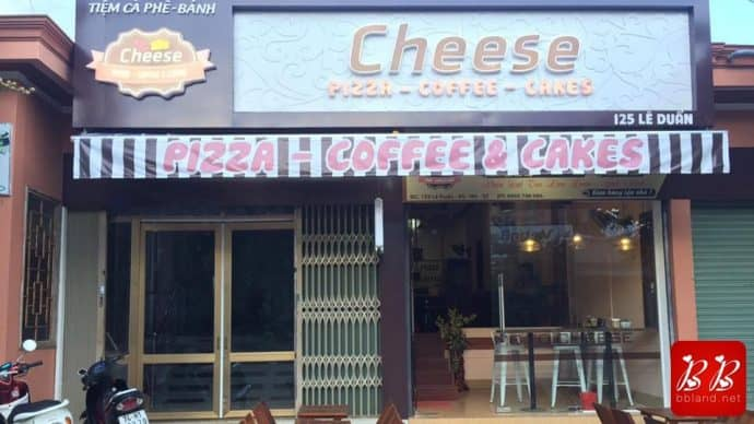 Đánh giá tiệm Cheese: Coffee - Cakes ở Khe Sanh