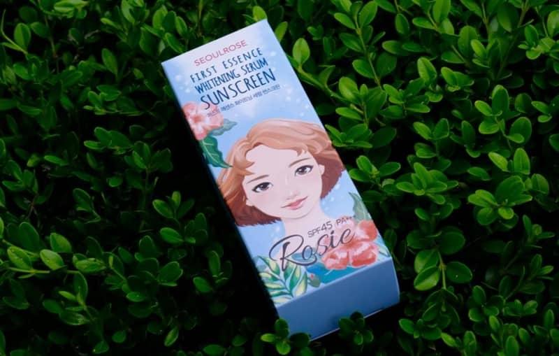 Kem Chống Nắng Rosie First Essence Whitening Serum Suncreen