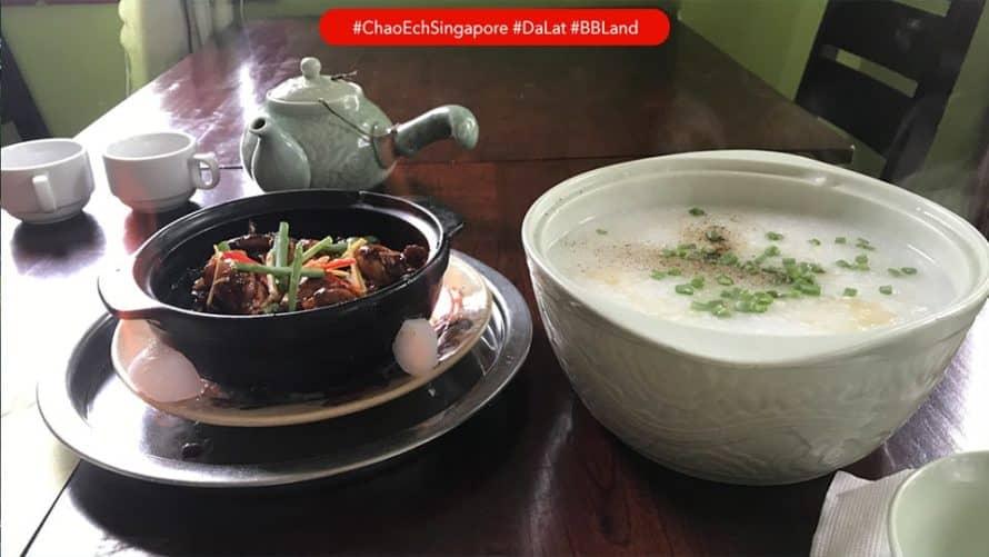 Đánh giá quán Cháo ếch Singapore – Đà Lạt
