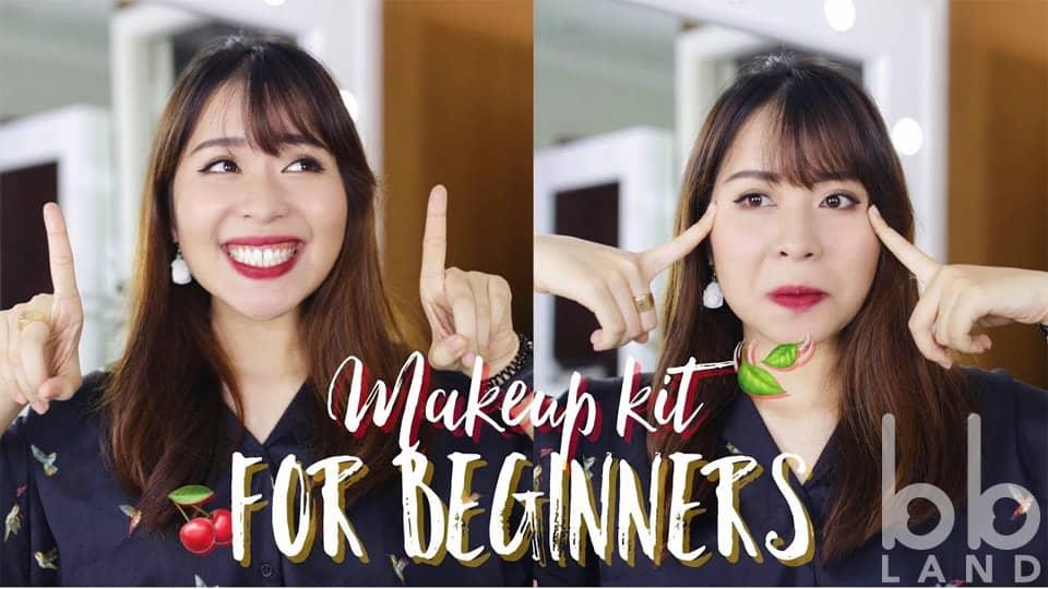[Làm đẹp] Sản phẩm cơ bản và hướng dẫn makeup cho người mới bắt đầu