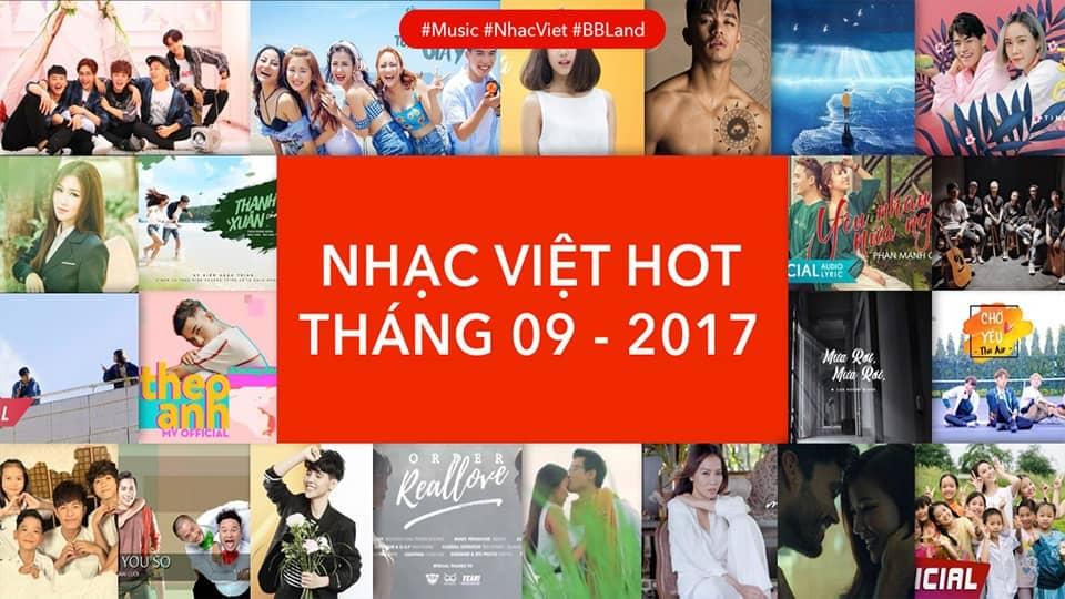 [Playlist] Nhạc Việt Hot Tháng 09/2017