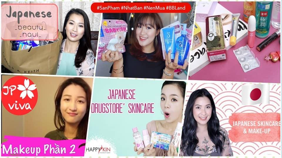 Các sản phẩm làm đẹp Nhật Bản nên mua
