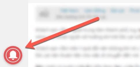 Hướng dẫn đăng ký nhận thông báo bài mới ở máy tính