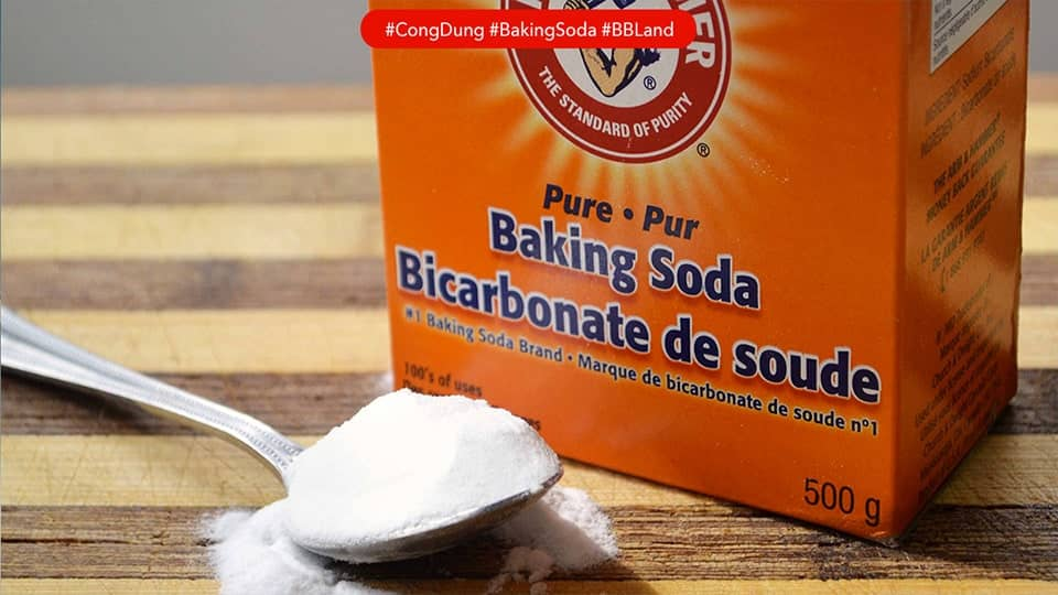 Những công dụng bất ngờ của Baking soda (Muối nở)