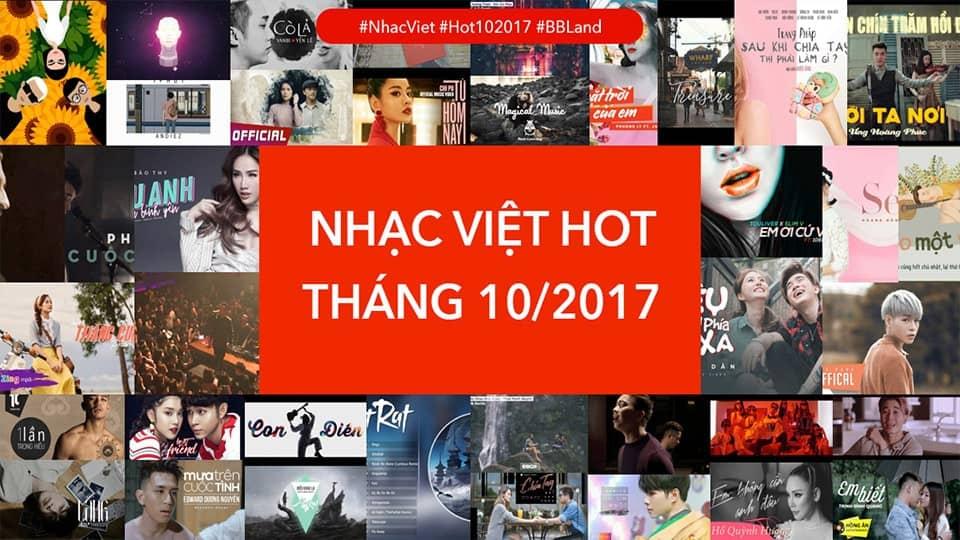 [Playlist] Nhạc Việt Hot Tháng 10/2017