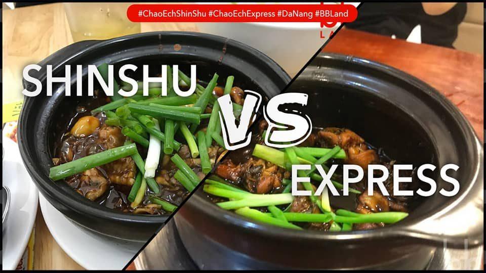 [Đà Nẵng] Cháo ếch ShinShu vs Cháo ếch Express, quán cháo ếch nào ngon?