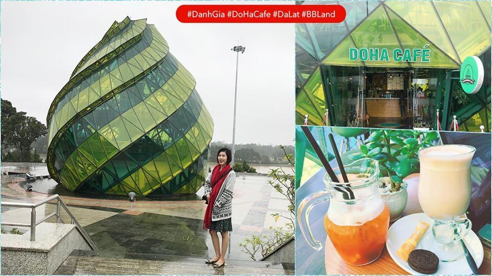 Đánh giá DOHA Cafe Đà Lạt – Cafe bên trong … Atisô