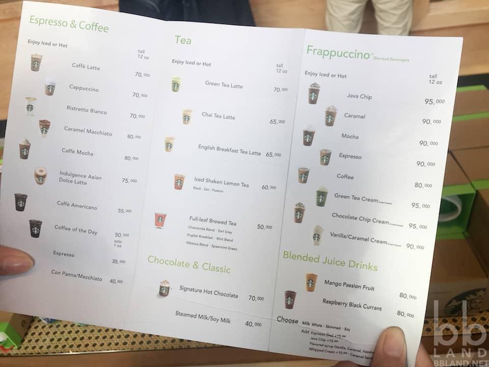 Men Starbucks Đà Nẵng