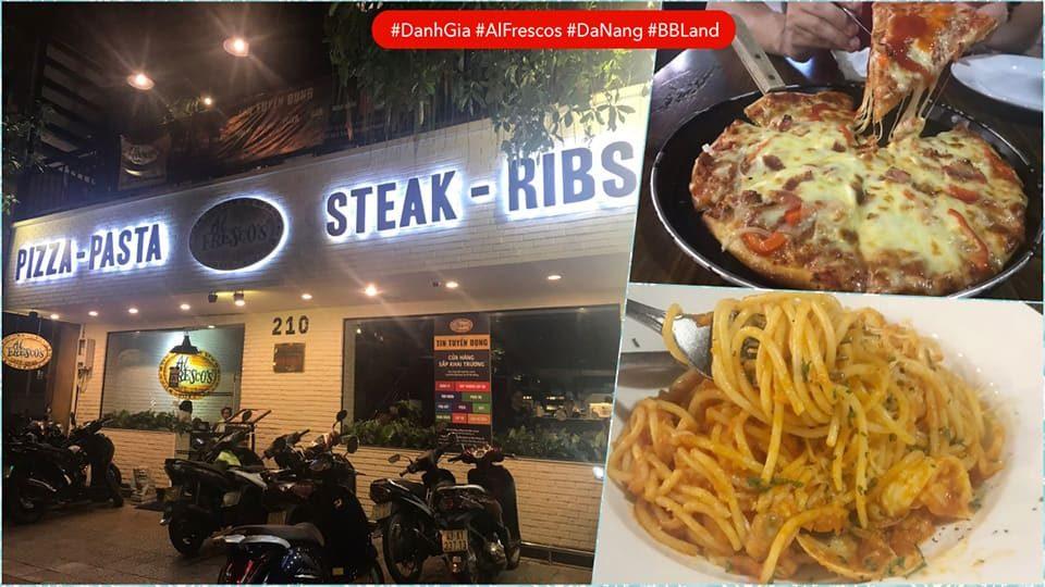 Đánh Giá Al Fresco's Đà Nẵng – Pizza, Pasta, Steak, Ribs