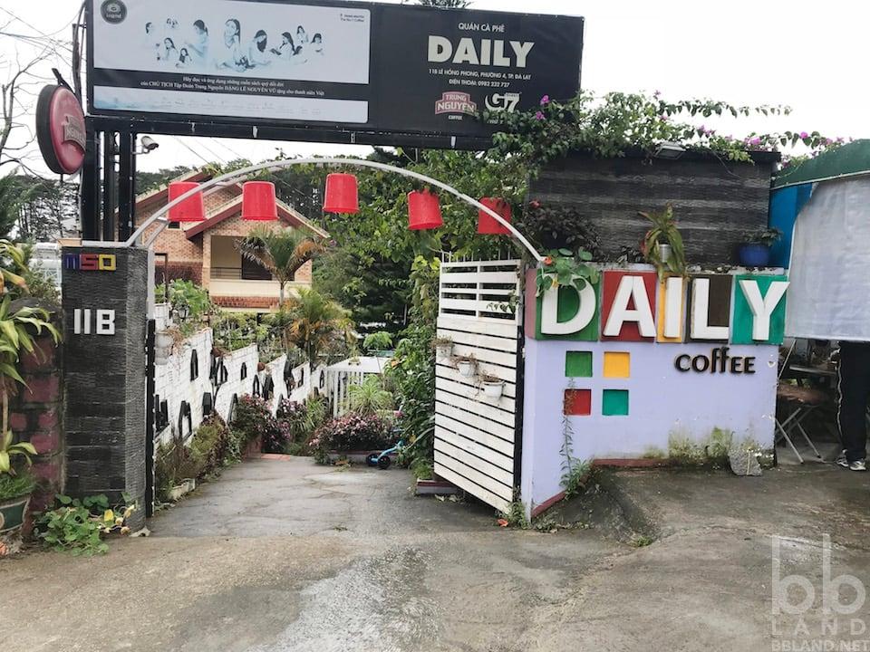 Hình 1 - Đánh giá quán Daily Coffee - Cà phê đẹp ở Đà Lạt?