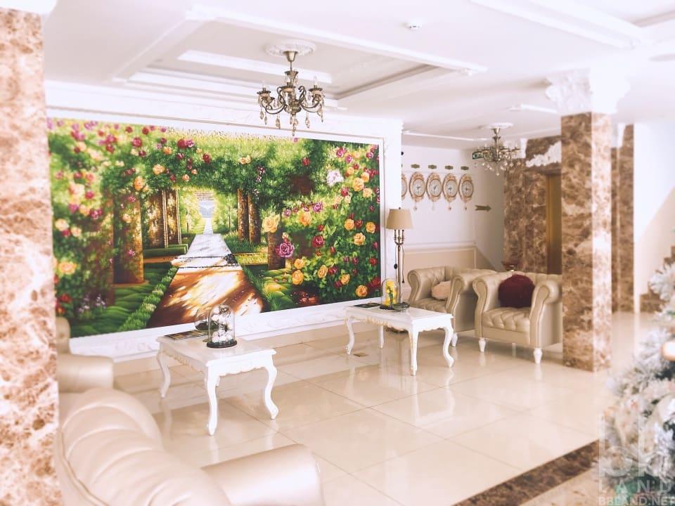 Sảnh dưới La Vie En Rose Villa Đà Lạt