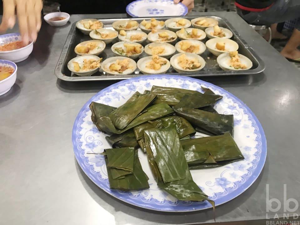 Bánh bèo, lọc tại Quán Vân Đà Nẵng