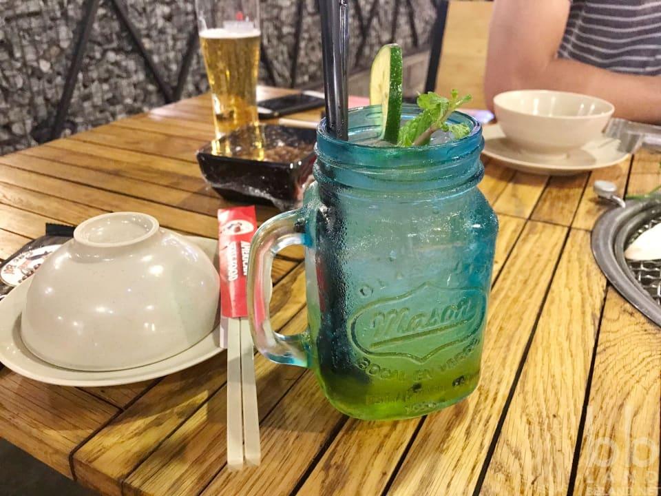Soda chanh dây tại Sườn Nướng Cao Bồi Đà Nẵng