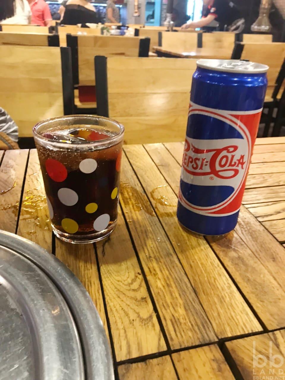 Pepsi tại Sườn Nướng Cao Bồi Đà Nẵng